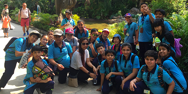 IPS Visits Lost World