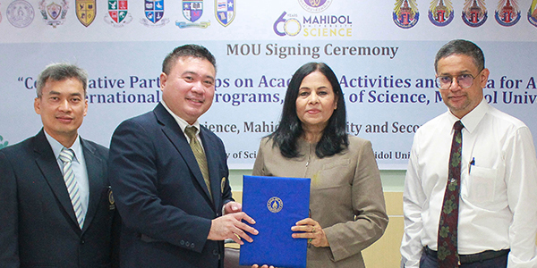 MOU with Mahidol University